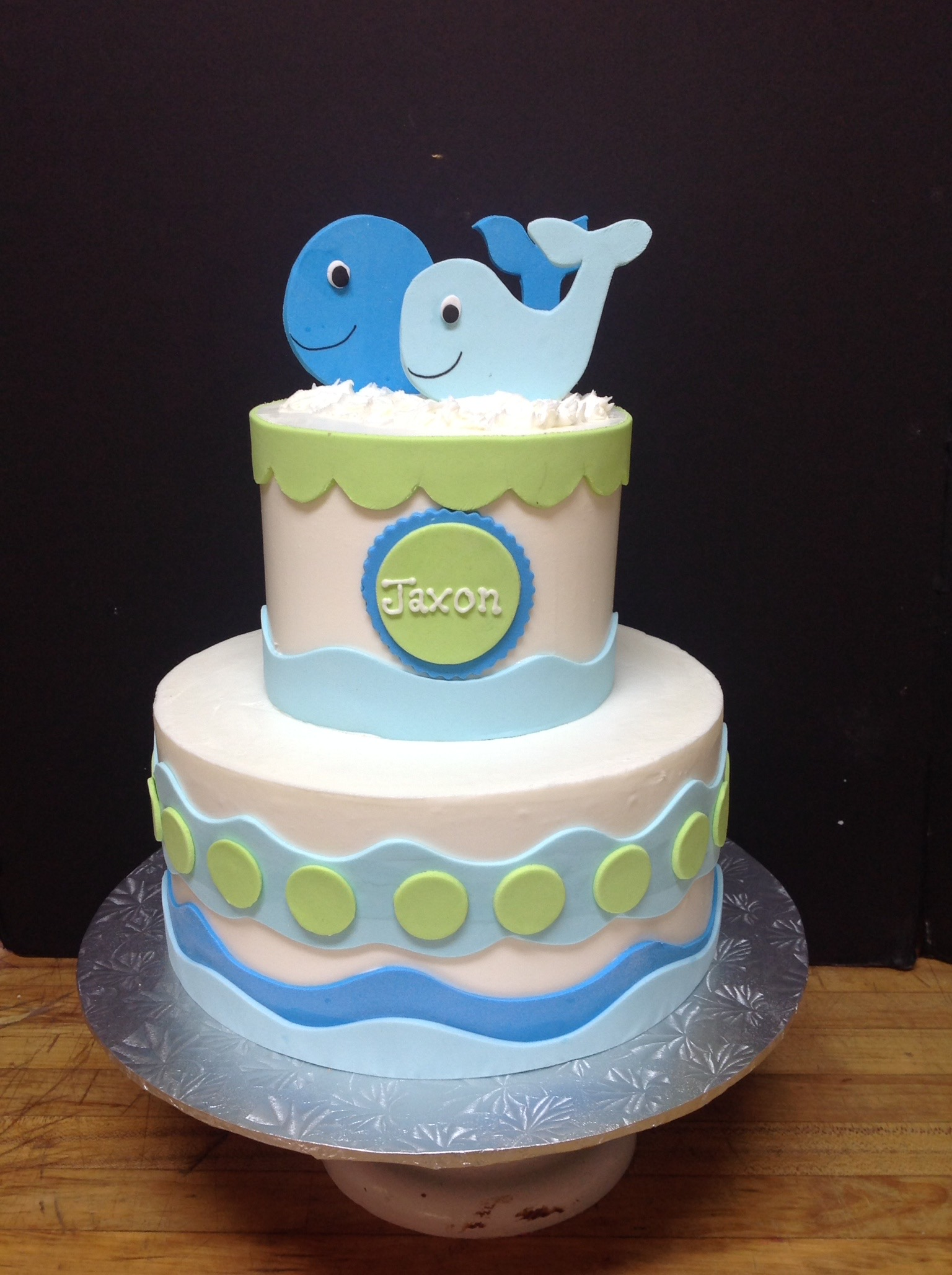 Baby Shower Cakes – The Cocoa Bean Bakery