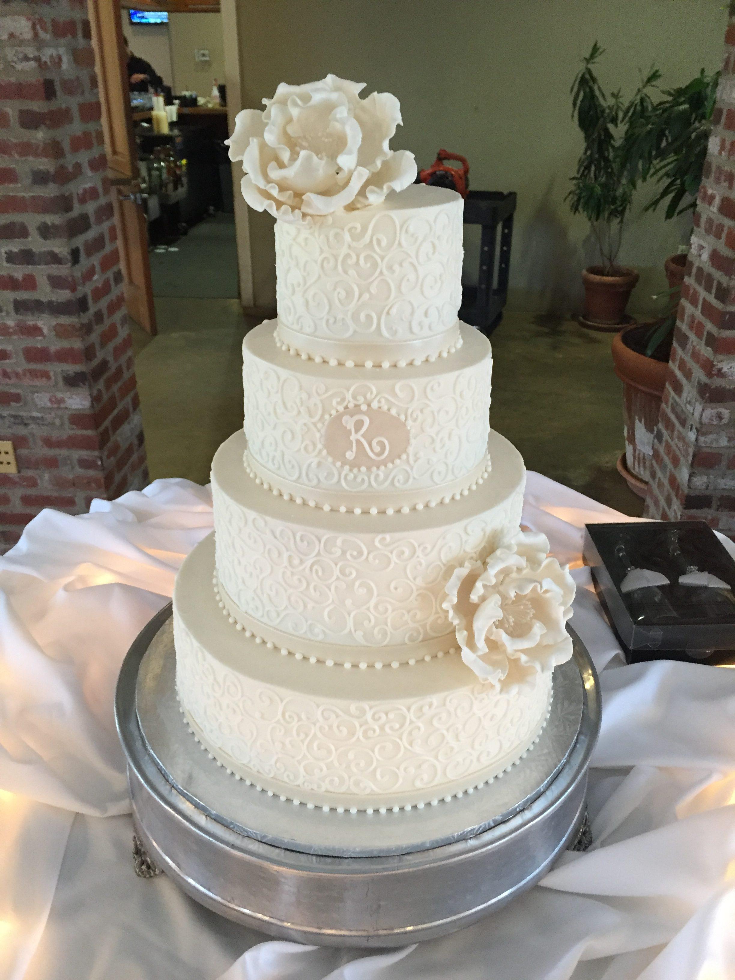 Wedding Cakes – The Cocoa Bean Bakery